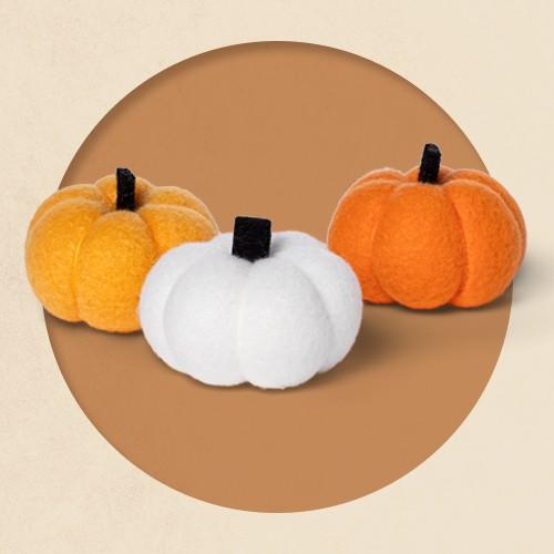 Harvest Fabric Pumpkin Set - Hyde & EEK! Boutique™