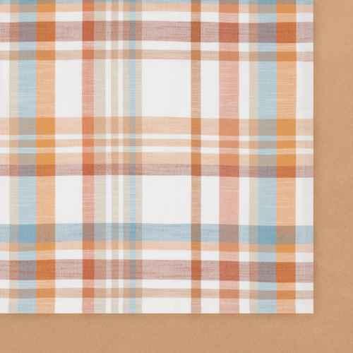 "104"" x 60"" Cotton Harvest Plaid Tablecloth - Threshold™"