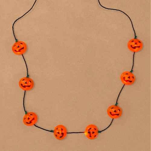 Kids' Pumpkin Halloween Light Up Necklace - Hyde & EEK! Boutique™