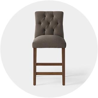 Becca stool bamboo furniture modern bamboo Forooshino Tufted Encore Furniture Gallery Bar Stools Counter Stools Target