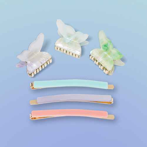 Butterfly Claws and Bobbie Pin Set 6pc - Wild Fable™ Assorted Blue