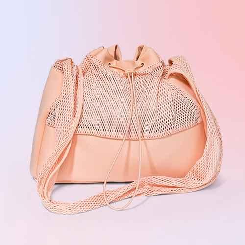 Mesh Sling Elastic Band Shoulder Handbag - Shade & Shore™