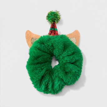 Elf Hair Scrunchie - Green