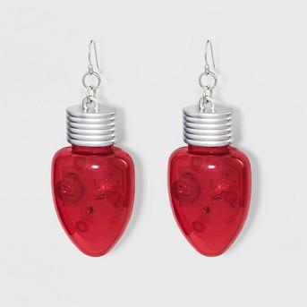 Lite-Up Bulb Earrings
