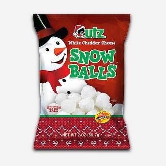 Utz White Cheddar Snow Balls - 2oz