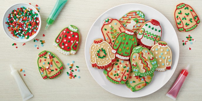 Vanilla Ugly Sweater Cookie Kit - 17.2oz - Wondershop™