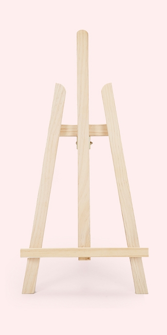 Wood Table Easel - Hand Made Modern