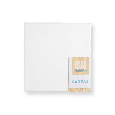 Square Canvas White - Hand Made Modern