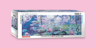 Waterlilies by Claude Monet 1000pc Panno Puzzle