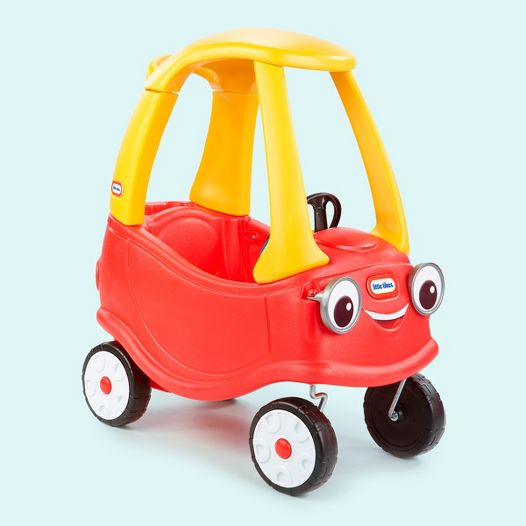 Old School Fisher Price Yellow And Red Pedal Car