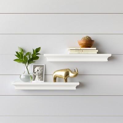 Contemporary Wall Shelves Target