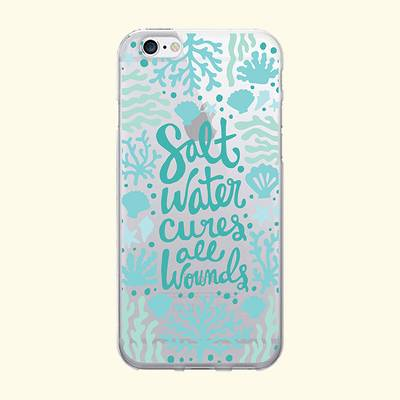 iPhone 7/6s/6 OTM Prints Clear Phone Case Salt Water Cures Reef White - OTM Essentials®