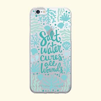 iPhone 7/6s/6 OTM Prints Clear Phone Case Salt Water Cures Reef White - OTM Essentials®