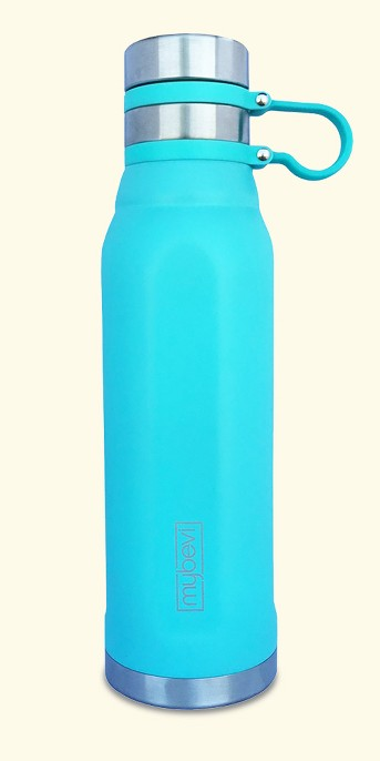 MyBevi 25oz Quatro Sport Water Bottle with Spill Proof Lid