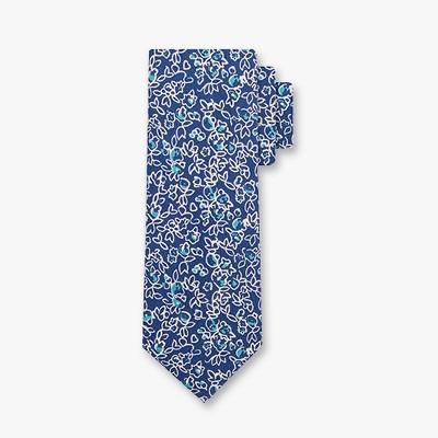 Men's Print Neckties - Goodfellow & Co™ Navy One Size