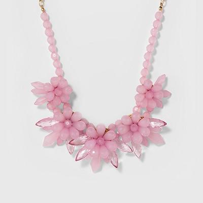 SUGARFIX by BaubleBar Floral Motif Statement Necklace