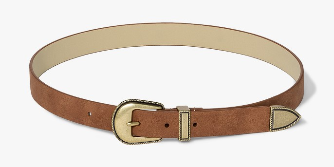 Women's 25mm Western Belt - Universal Thread™ Cognac