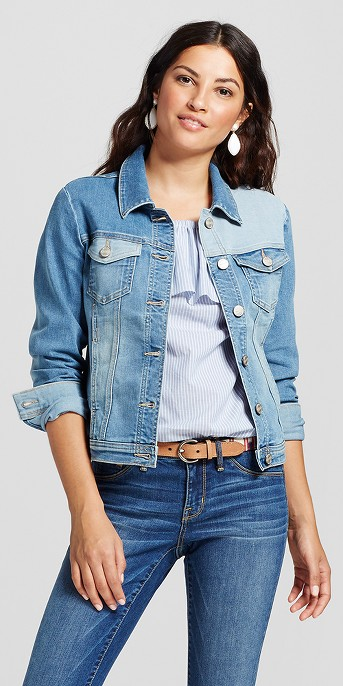 Women's Modern Fit Reworked Denim Jacket - Crafted by Lee® Light Wash