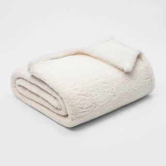 Fuzzy Bottom Printed Blanket - Threshold™