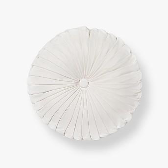 Pleated Velvet Round Throw Pillow - Opalhouse™