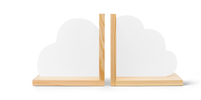 Cloud Bookends - Cloud Island™ White