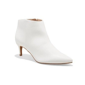 Women's Dominique Pointed Kitten Heel Booties - A New Day™
