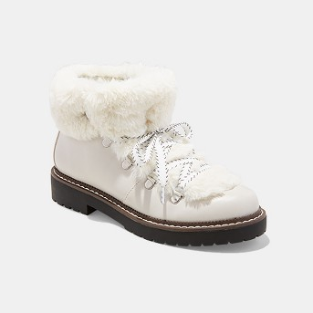Women's Tessie Faux Fur Hiker Boots - A New Day™