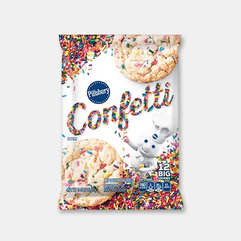 Pillsbury Confetti Big Cookies - 16oz