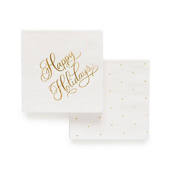 White Paper Cocktail Napkins, 40ct - sugar paper™