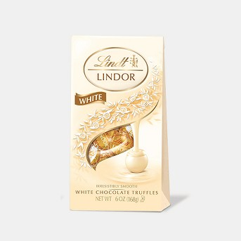 Lindor Christmas White Chocolate Bag - 6oz