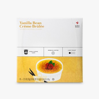 Vanilla Bean Crème Brulee Light Roast Coffee - Single Serve Pods - 48ct - Archer Farms™