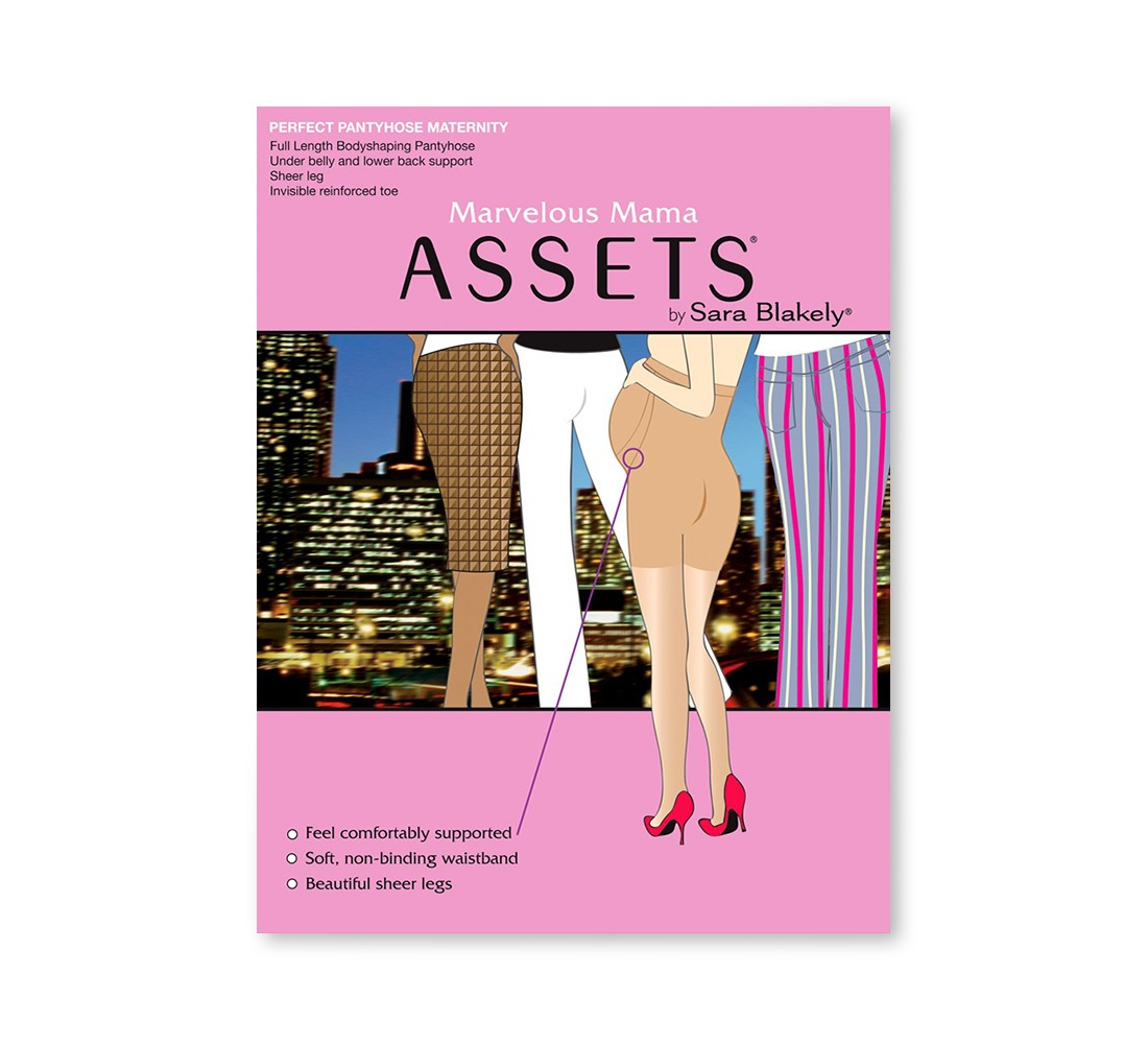ASSETS® by Spanx®  Maternity Perfect Pantyhose - Nude