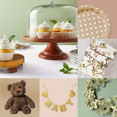 Plan a woodland baby shower that's (almost!) too pretty to bear.