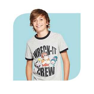 Ralph Breaks The Internet Juniors Milkshake Game T-Shirt