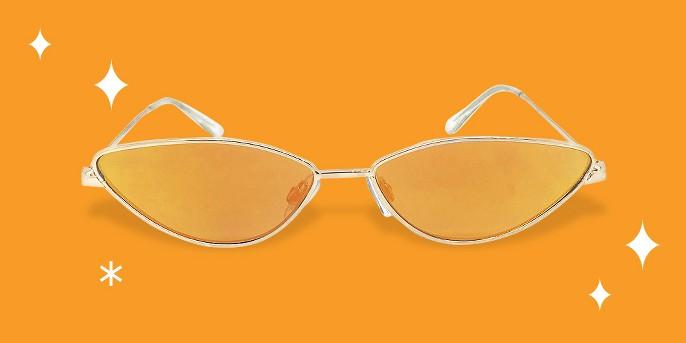 Women's Cateye Sunglasses - Wild Fable™ Gold