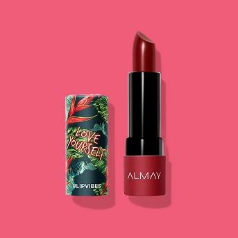 Almay Lip Vibes Lipstick With Vitamin E, Vitamin C And Shea Butter - 0.14oz