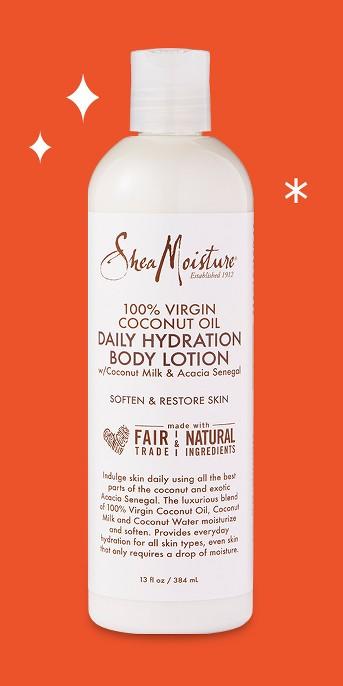 SheaMoisture 100% Virgin Coconut Oil Body Lotion - 13oz