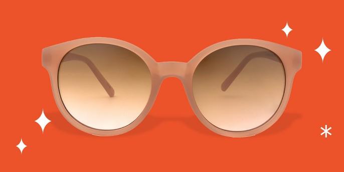 Women's Sunglasses - A New Day™ Blush Pink