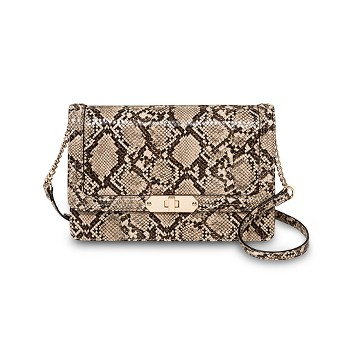Quilted Flap Lock Crossbody Bag - A New Day™