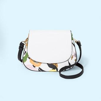 Everyday Essentials Saddle Crossbody Bag - A New Day™