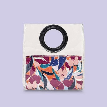 Tote Handbag With Foldover Clutch - A New Day™