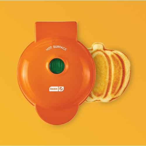Dash Pumpkin Mini Waffle Maker, Dash Mini Honeycomb Waffle Maker