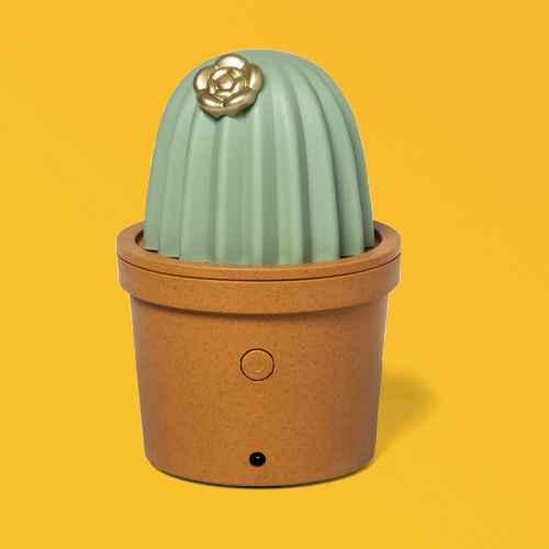Cactus Ultrasonic Diffuser Green - Opalhouse™, 100ml Mini Gemcut Diffuser - Opalhouse™