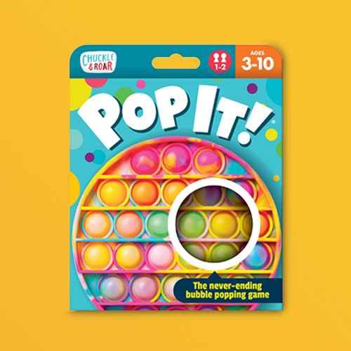 Chuckle & Roar Pop It! Fidget and Sensory Game - Tie Dye