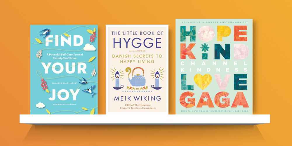 Find Your Joy - by Jennifer King Lindley (Paperback), Little Book of Hygge : Danish Secrets to Happy Living (Hardcover) (Meik Wiking), Channel Kindness: Stories of Kindness and Community - by Lady Gaga (Hardcover)