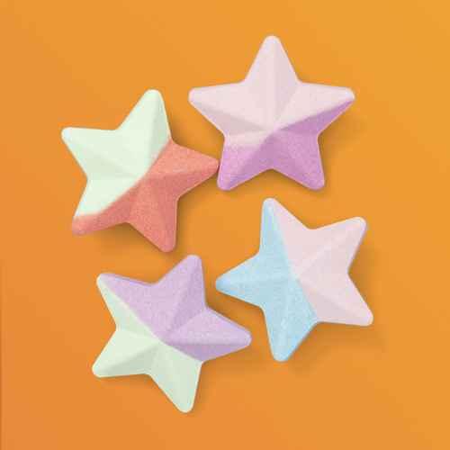 Set Stars Bath Bomb - 4ct - More Than Magic™