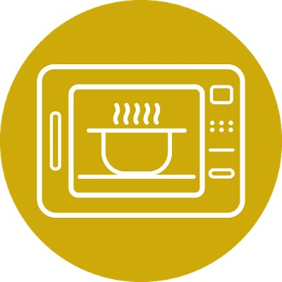 Microwave Safe - Reheat Only