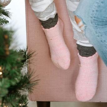 Hanes Girls' 3pk Super Soft Low Cut Socks - Gray/Blue/Pink