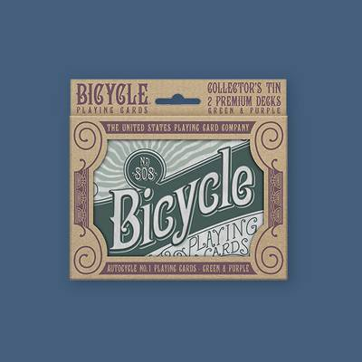 Bicycle Retro Tin Playing Card Game