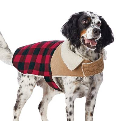 Pet Jacket Buffalo Check - Wondershop™
